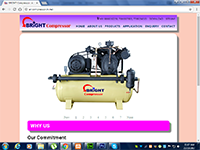 Excellent Infomedia Work Bright Air Compressor